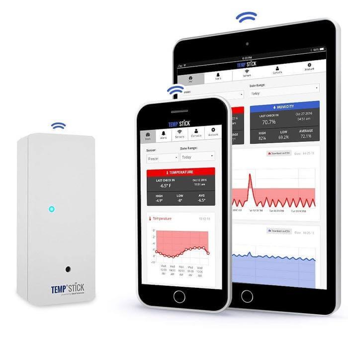 Recenzia najlepšieho bezdrôtového teplotného senzora: Temp Stick od Ideal Sciences 1